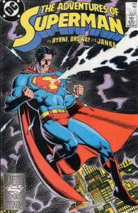 Adventures of Superman 440 by Jerry Ordway