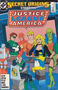 Secret Origins 32 Justice League