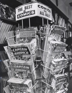 comic book spinner rack
