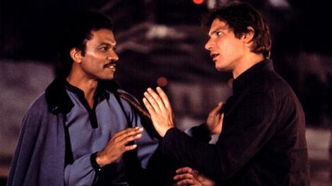 Han Solo, Lando Calrissian from The Empire Strikes Back